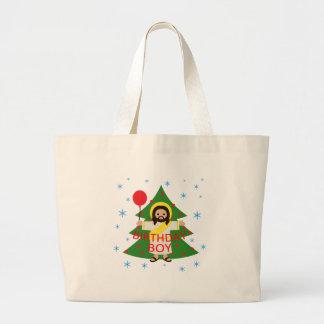 Jesus - Weihnachten Jumbo Stoffbeutel