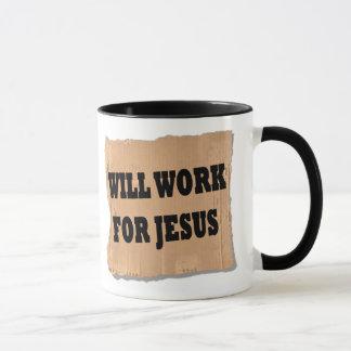 Jesus-Zeichen (Tasse) Tasse