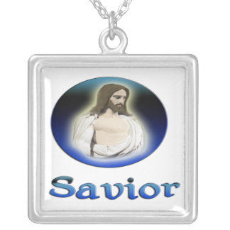 Jesusquergeschenke Versilberte Kette