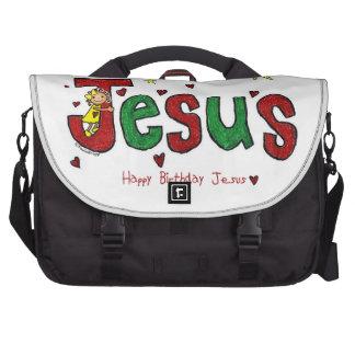 Jesuss Geburtstags-Umarmung (Weihnachten) Laptoptasche