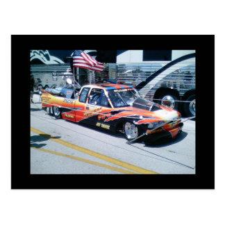 Jet-LKW Postkarte
