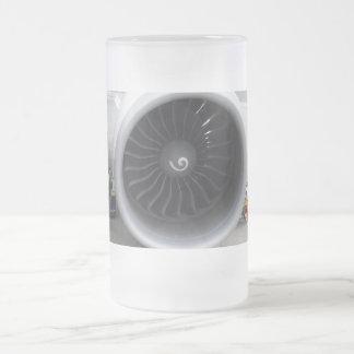 Jet-Motor-mattierte GlasTasse Mattglas Bierglas