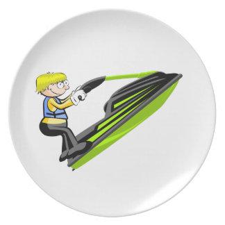 Jet Ski Fan Melaminteller