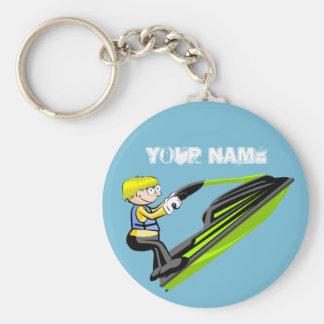 Jet Ski Fan Schlüsselanhänger