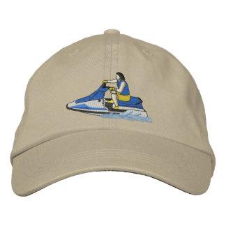 Jet-Skifahrer (Sitzen) Bestickte Kappe