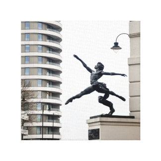 Jeté Statue Leinwanddruck