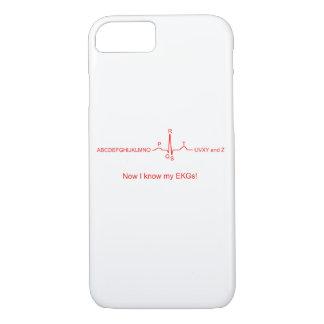 Jetzt kenne ich meinen EKGs iPhone Fall iPhone 8/7 Hülle