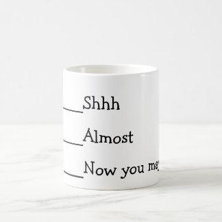Jetzt können Sie lustiges meme sprechen Kaffeetasse