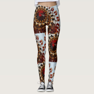 Jeweled Gamaschen Leggings