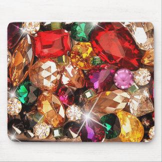 Jeweled Juwel-Schein-Edelstein-Farbe Mauspads