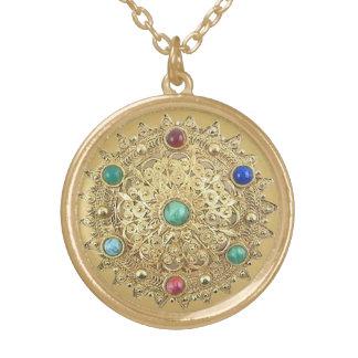 Jeweled Medaillon