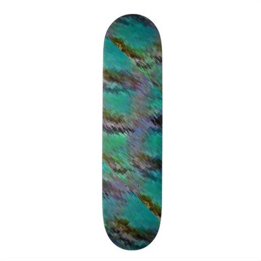 Jeweled Tiefen Personalisiertes Skateboarddeck