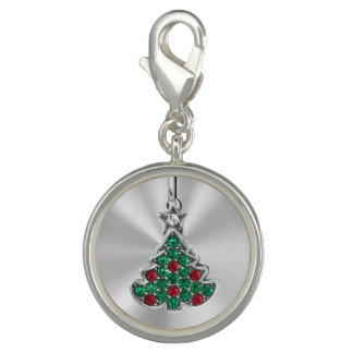 Jeweled Weihnachtsbaum Charm