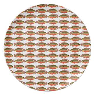 Jewelfishpattern9kwwb Melaminteller