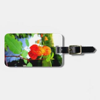 Jewelweed-Blumen-Nahaufnahme Kofferanhänger