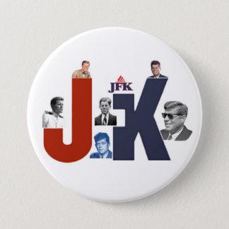 JFK 100 Jahre Runder Button 7,6 Cm