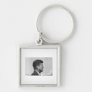 """JFK """"friedliche Revolutions-"""" Schlüsselanhänger"""