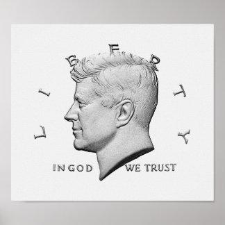 JFK - Im Gott vertrauen wir Poster