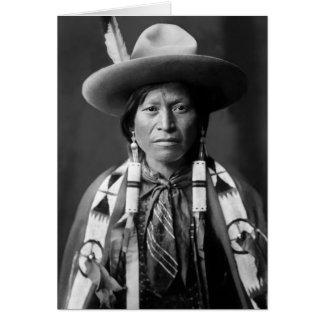 Jicarilla Apache Cowboy Karte