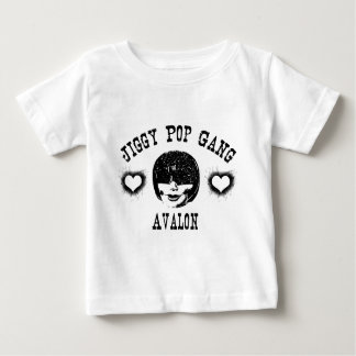 Jiggy Pop-Gruppe Avalon Creepy Grunge-Charakter Baby T-shirt