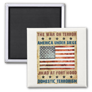 Jihad bei Fort Hood Quadratischer Magnet