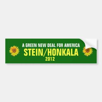 JILL STEIN FÜR PRÄSIDENTEN 2012 AUTOAUFKLEBER