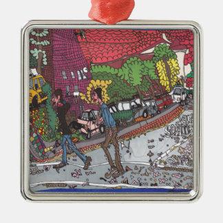 Jill Straße Silbernes Ornament