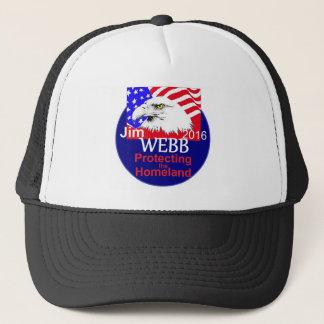 Jim WEBB 2016 Truckerkappe