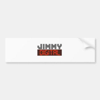 Jimmy Digital Autoaufkleber