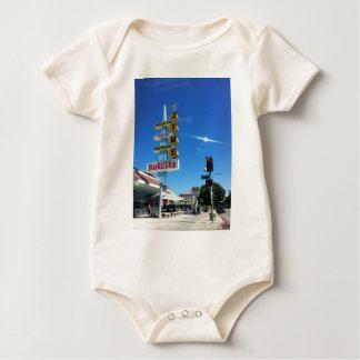 Jims Burgerostlos- angelesFoto durch Schlamm Baby Strampler