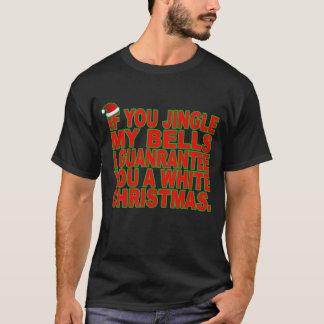 Jingle meine Bell für weißes Weihnachtst-shirts T-Shirt