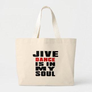 JIVE ist in meinem Soul Jumbo Stoffbeutel