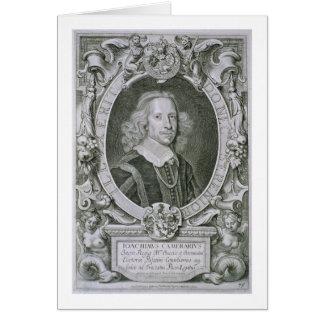 Joachim Camerarius, von 'Kranken Porträt-DES Homme Grußkarte
