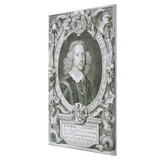 Joachim Camerarius von Kranken Porträt-DES Homme Leinwand Drucke