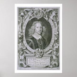 Joachim Camerarius, von 'Kranken Porträt-DES Homme Poster