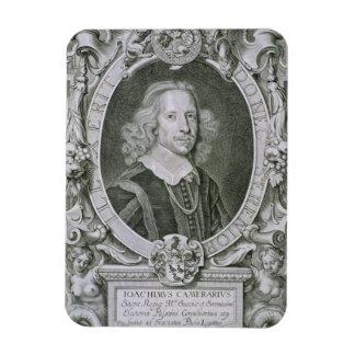 Joachim Camerarius, von 'Kranken Porträt-DES Homme Recchteckiger Magnet