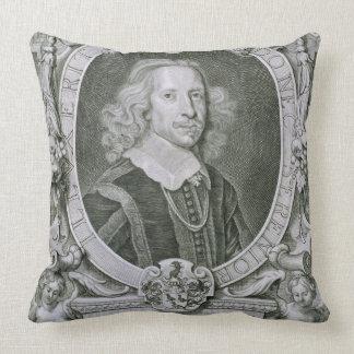 Joachim Camerarius, von 'Kranken Porträt-DES Homme Zierkissen