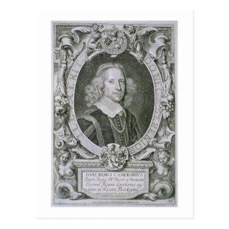 Joachim Camerarius, von 'Kranken Porträt-DES Postkarte