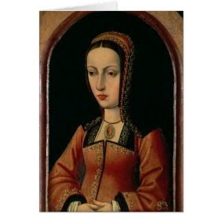 """Joanna oder Juana """"das wütende"""" der Olivenölseife Grußkarte"""