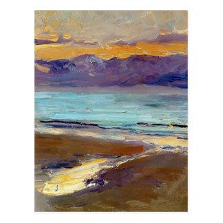 Joaquín Sorolla- Küste Postkarte