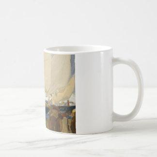 Joaquin Sorolla - Valencia-Strand Kaffeetasse