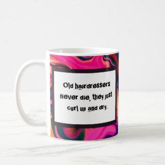 Job-Spaß für Haar-Stylisten Kaffeetasse