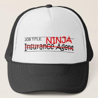 Job-Titel Ninja - Ins-Agent Truckerkappe