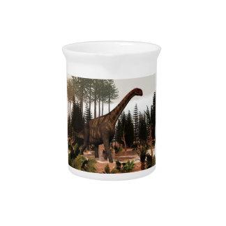 Jobaria Dinosaurier - 3D übertragen Getränke Pitcher