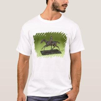 Jockey auf einem Pferd (Bronze) T-Shirt