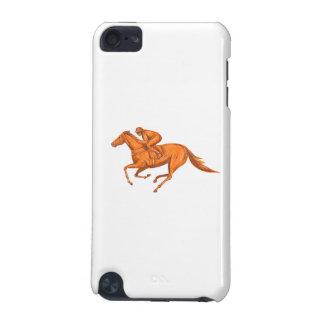 Jockey-Pferdelaufen zeichnend iPod Touch 5G Hülle