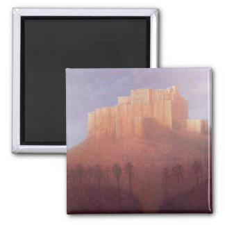 Jodhpur-Fort Quadratischer Magnet