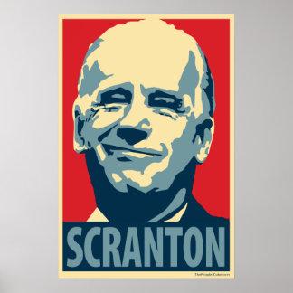 Joe Biden - Scranton: OHP Plakat