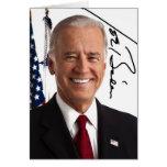 Joe Biden-Unterzeichnungs-Gruß-Karte
