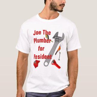 Joe der Klempner für Präsidenten - besonders T-Shirt